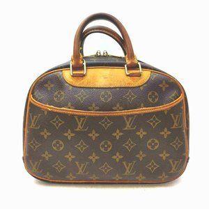 Auth Louis Vuitton Deauville Hand Bag #8039L23